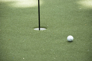 putting green - golf