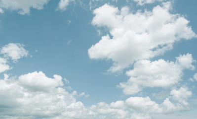 cloud background with retro effect