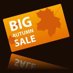 Autumn big sale card