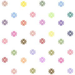 Seamless pattern, floral wallpaper, vector