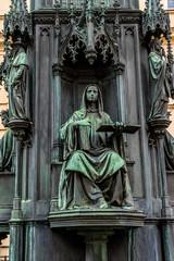 Charles IV Statue (Karel IV,1848). Prague, Czech Republic.