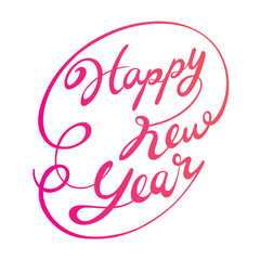 Happy New Year Lettering, Happy New Year, Merry Christmas, Xmas, Objects, Festive, Celebrations