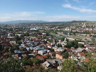 Красавец -город Тбилиси с высоты