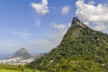 Wall Mural - View of Christ the Redeemer, Rio de Janeiro, Brazil