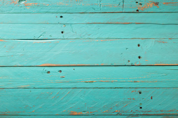 Wooden rustic turquoise background