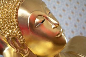 Sleeping Buddha in the temple