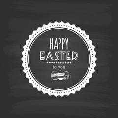 Easter label