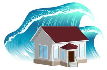 House flooding. Property insurance