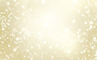 Elegant glittering Christmas background with snowflakes and plac
