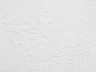 White mortar wall texture background