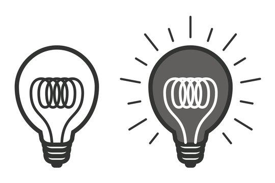 ampoule picto vecteurs idée 6
