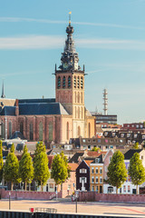 The city center of the old Dutch city of Nijmegen