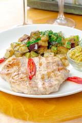 Marinated grilled healthy chicken