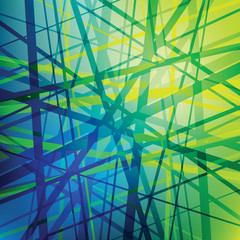 Vector lines, abstract background, black network, technology wallpaper
