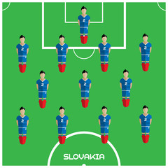 Computer game Slovakia Football club player