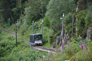 Fløybanen, Standseilbahn, Bergen