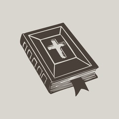 Hand drawn Bible cover