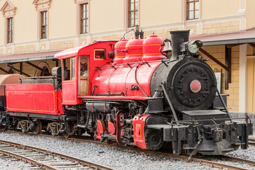 Ecuadorian Steam Locomotive