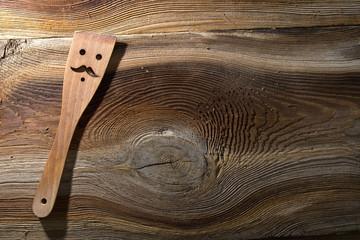 Drewniana łyżka kuchenna