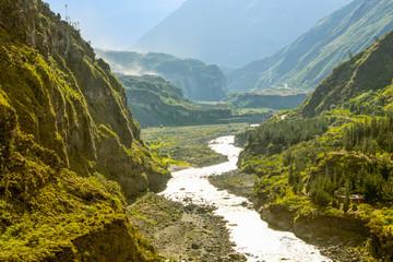 Pastaza River In Ecuador
