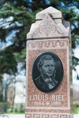 Louis Riel headstone