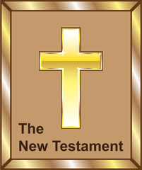 The New Testament Golden cross