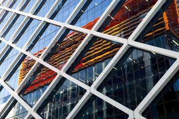 Glass and Steel Facade, skyscraper, Sydney