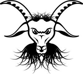 Goat Satan Devil Evil Vector