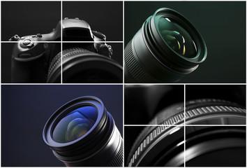 Digital camera collage