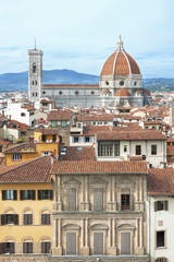 Fototapete - Cathedral Santa Maria del Fiore, Florence, Tuscnay, Italy