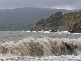 Breaking waves, Brechende Wellen