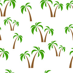 seamless pattern palms