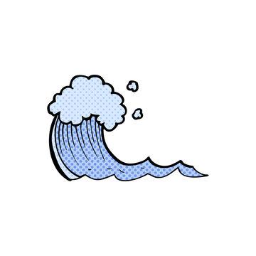 cartoon wave