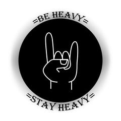 Heavy metal symbol