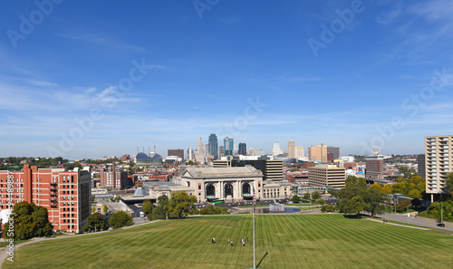 Aufkleber View of Kansas City Missouri