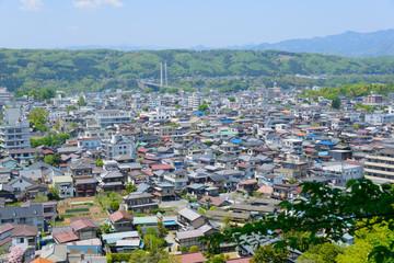 Landscape of Chichibu in Saitama, Japan