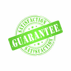 Vector Satisfaction Guarantee stamp