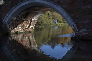 Марфино.  Мост на реке Уча.