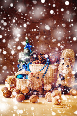 Christmas with Hand Made Toys and Presents