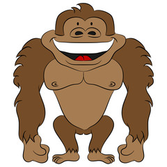 Cartoon Ape