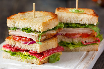 Sandwiches.