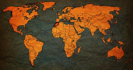 morocco territory on world map