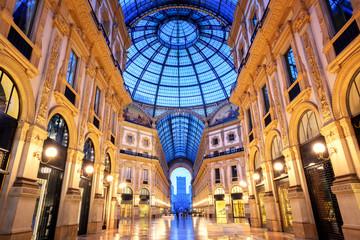 Keuken foto achterwand Milan Galleria Vittorio Emanuele II, Milan, Italy