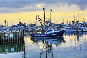 Large Fishing Boat Westport Grays Harbor Washington State