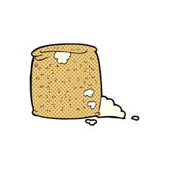 cartoon flour