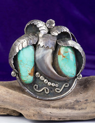 Old Navajo Turquoise .