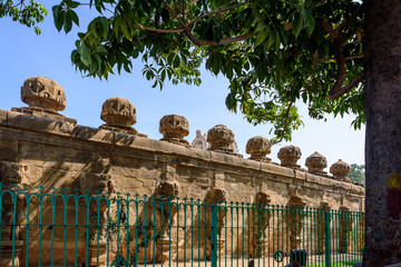 India - outer temple wall Kanchipuram