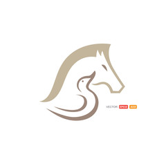 Swan Horse