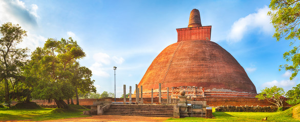 Jetavanaramaya dagoba. Panorama