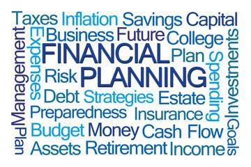 Financial Planning Word Cloud